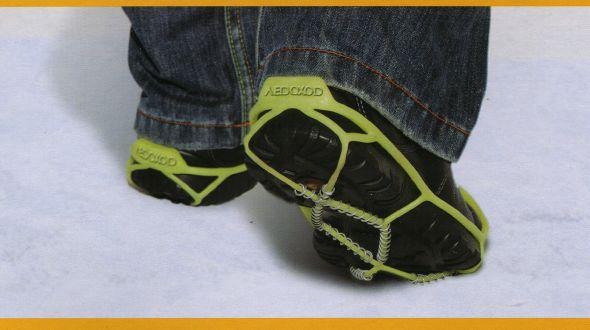 Средство против скольжения обуви своими руками